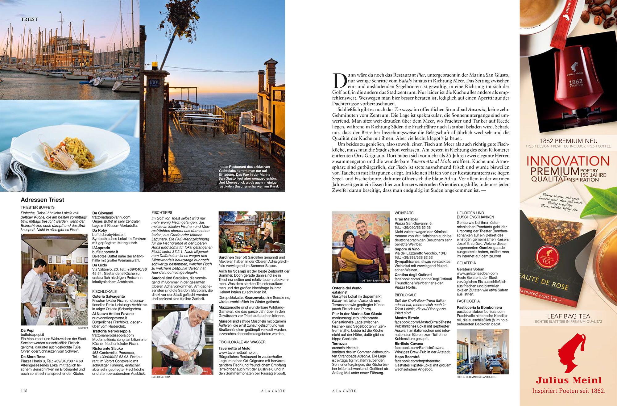 Cosa vedere e mangiare a Trieste
